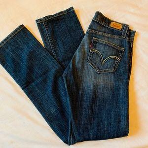 Levi's Tilted 504 Jeans Size 3 Med. Great Shape!